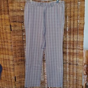 Jey Cole Man Checkered golf pants  36×34 ITALY